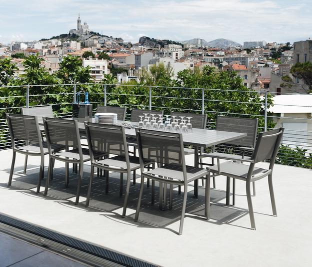 Table costa extensible -FERMOB-Mobilier de jardin, accessoires ...